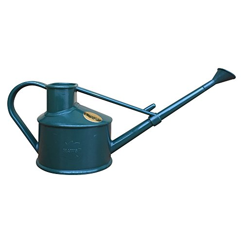 Bonsai Watering Can (Bonsai Tree Watering Can - Haws | Handy Plastic 1-Pint (Green) from BonsaiOutlet)
