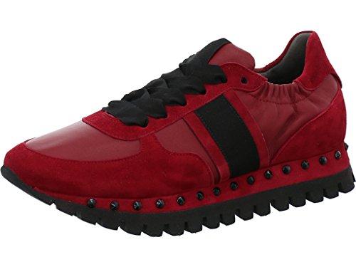 à Kennel Chaussures Schmenger Femme pour Lacets Rouge amp; Ville de nXPX5wBxr