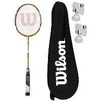 Recon Wilson BLX-Raquette de Badminton-Sac de transport 6 volants Carlton 180