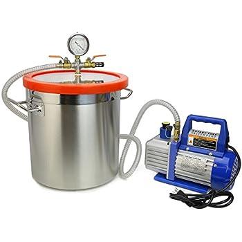 Amazon Com Xtremepowerus 4 Cfm Single Stage Vacuum Pump 5