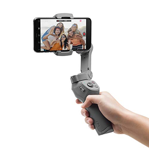 DJI OSMO Mobile 3 Lightweight and Portable 3-axis Handheld Gimbal Stabilizer Compatible with iPhone & Android Phones from DJI
