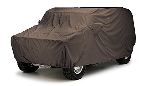 Covercraft Custom Fit Car Cover for Jeep Grand Cherokee (WeatherShield HP Fabric, Taupe)