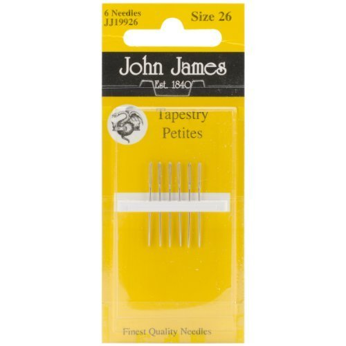 Tapestry Petites Hand Needles-Size 26 6/Pkg by Colonial Needle