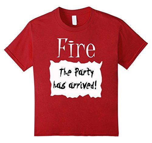 6 Group Halloween Costume Ideas (Kids Fire Hot Sauce Packet Group Halloween Costume T-shirt 6 Cranberry)