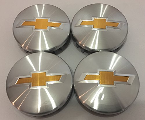 Brushed Aluminum Chevy Suburban Tahoe Center Caps 9596403 3.25 18 20 22 inch Wheels