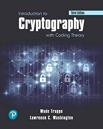 Pearson eText Introduction to Cryptography with Coding Theory -- Access Card (3rd Edition)