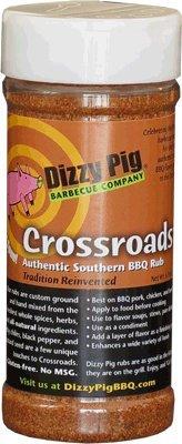 Dizzy Pig Crossroads Authentic Southern BBQ Rub - 6.9 Oz