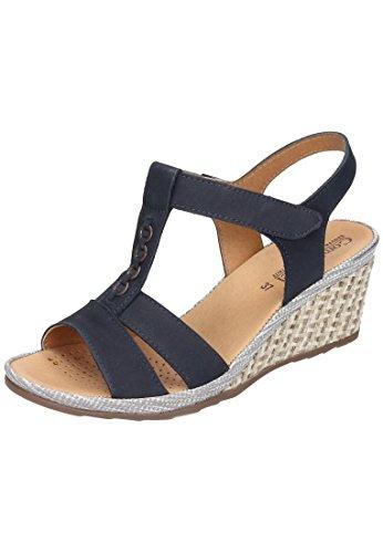 Comfortabel Comfortabel Damen Sandalette - Sandalias de vestir de Piel para mujer Azul azul Azul - azul