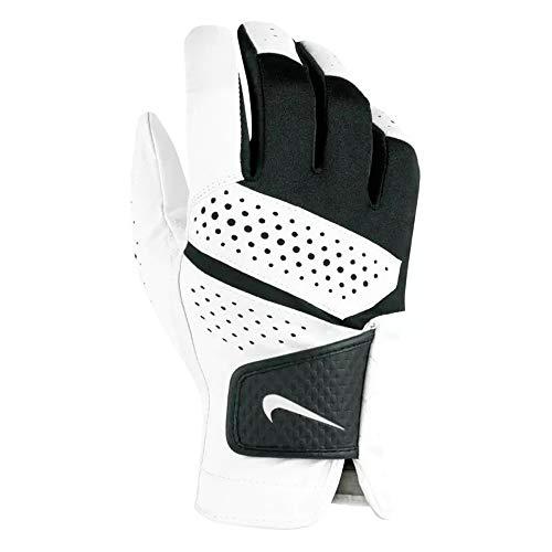 Nike New TECH Extreme VI Golf Gloves Regular White/White/Black RH Small (Right Golf Glove Nike Hand)