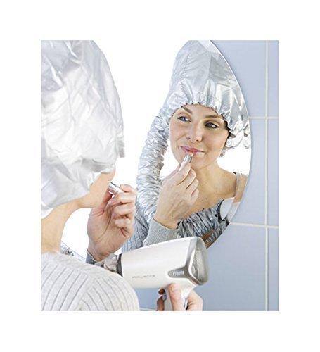 Haartrockner-Haube Trockenhaube Haartrockenhaube für Haartrockner Fön silber
