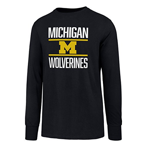 - NCAA Michigan Wolverines Men's Ots Rival Long sleeve Tee, Large, Fall Navy