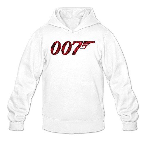 James Spectre Hoodie Sweatshirt White