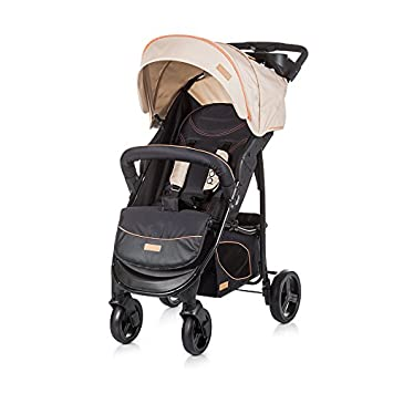 Chipolino Baby Stroller Set Passo, Beige 2 in 1 with Car Seat 0+: ...