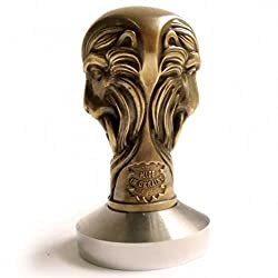 *LION* Exclusive Handmade Professional Tamper for Espresso Machine Coffee Bean Press - by CooB -