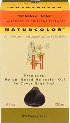 Naturcolor 2N Poppy Seed Hair Dyes, 4 Ounce