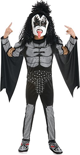 Child KISS Rocker Costume - The Demon Large -