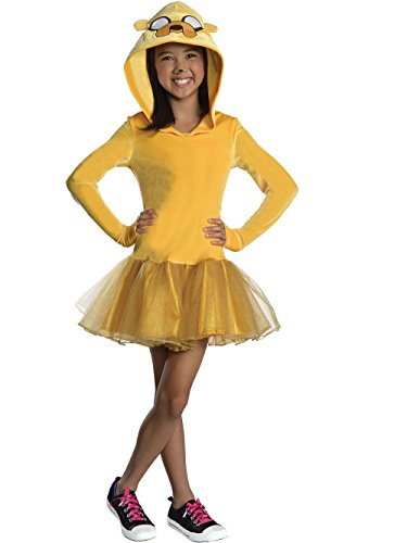 Dog Jake Costume The (Rubie's Costume Adventure Time Jake Child Costume,)