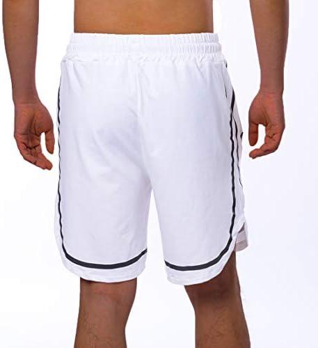 OEAK Short de Sport 2 en 1 Homme d/ét/é Pantalon Court D/écontract/é Imprim/é Camouflage S/échage Rapide Respirant avec Poche de T/él/éphone de Jogging Gym