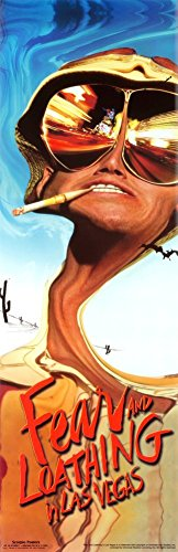 Fear and Loating in Las Vegas Cult Classic Movie Film Poster Print
