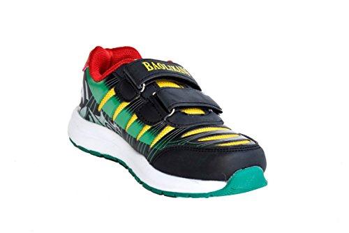 TMX 9508elegante niños Trainers en negro tamaño: 25/36 Multicolour - BLACK