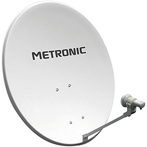 Metronic Universal - Kit de LNB y antena parabólica (digital ...