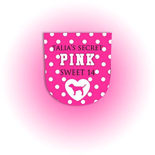 Set of 10 VS Pink BBW Pocketbac Sanitizer - Secret Label Victorias Pink