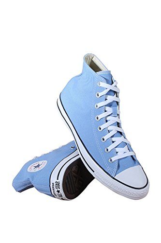 All Canvas Star Durable Color and Converse Style in Sneakers High Casual Uppers Top Blue Unisex Taylor and Classic Chuck Pioneer IZZtqa