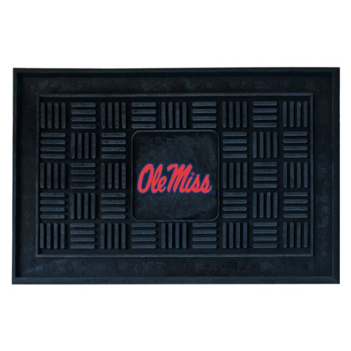 Gift Rebels Mississippi (Fanmats 11781 University of Mississippi Rebels Vinyl Medallion Door Mat)