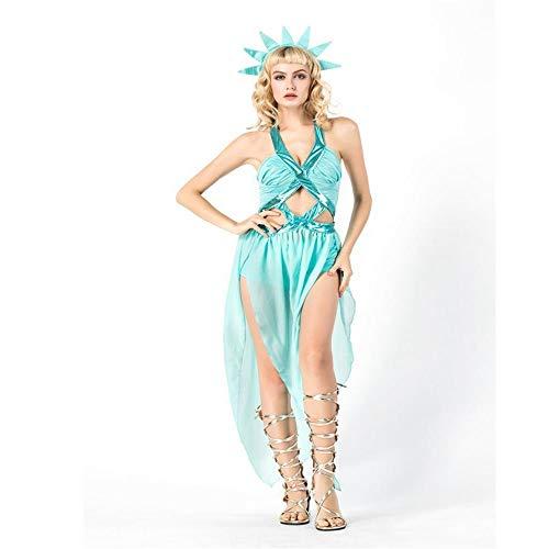 Yunfeng Witch Costume Halloween Costume Greek Goddess Maxi Skirt Cosplay Costume -