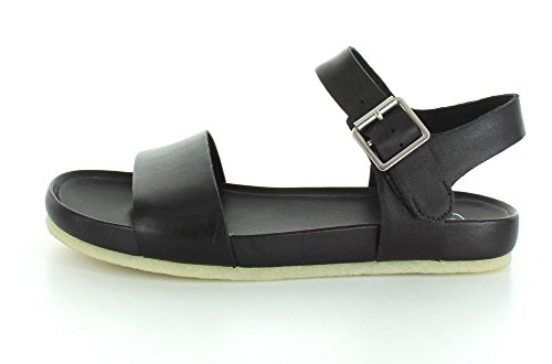 Leather Anima Sandal Clarks Black Womens Dusty gqvwn7FX