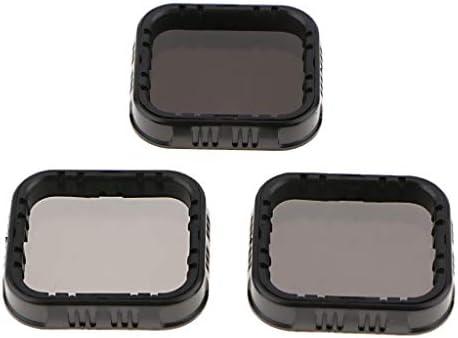 NDフィルター ND4 ND8 ND16フィルターセット GoPro Hero 7 6 5 Blackカメラに適合 ユニバーサル