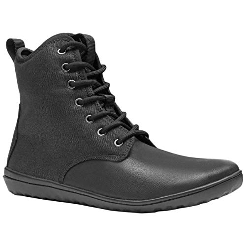 Vivobarefoot Men's Scott 2.0 Leather Black 41 D - Leather Thermal Up Lace Boots