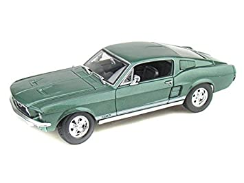 1967 ford mustang gta fastback 118 green - 1967 Ford Mustang Coupe Green