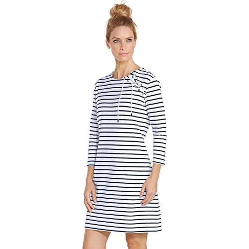 6a8681e1872c8 Coolibar UPF 50+ Women's Shoulder Lace Up Dress - Sun Protective 30%OFF