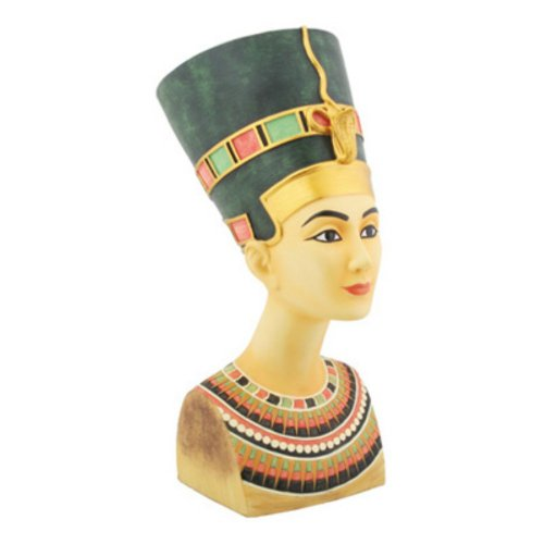 Collectibles Sculptures Statues - Med. Nefertiti - Collectible Figurine Statue Sculpture Figure Model
