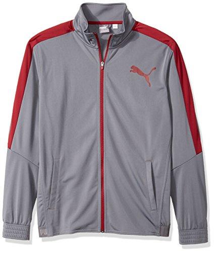 PUMA Men's Contrast Jacket, Grey, M