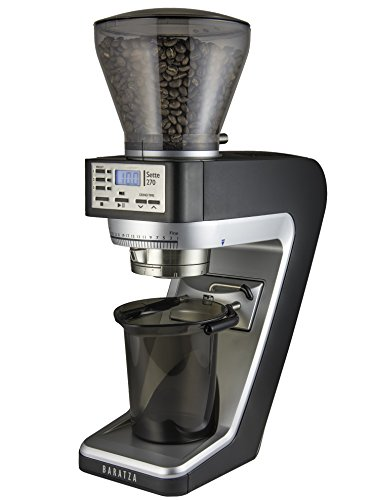 Baratza Sette 270 - Conical Burr (with Grounds Bin and built-in PortaHolder)