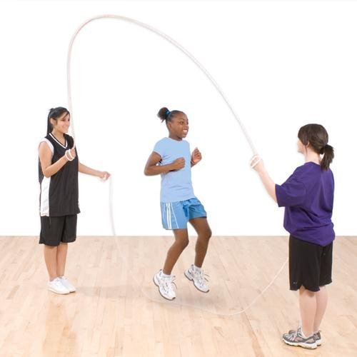 US Games 14-Foot Long Double-Dutch Ropes  (One-Pair) by US Games