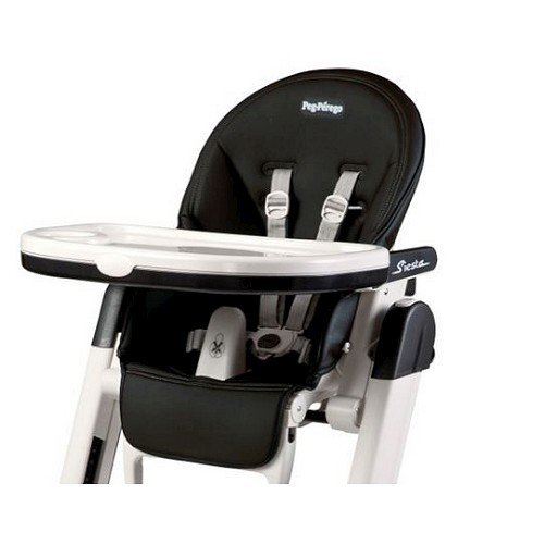 Peg Perego Siesta Highchair Replacement Cover Cushion Licorice