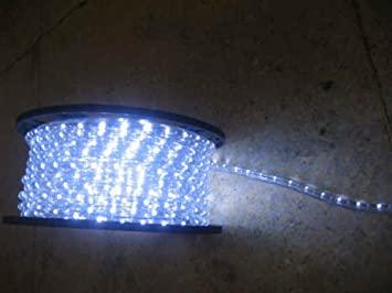 Amazon cool white 12 volts dc led rope lights auto lighting 15 cool white 12 volts dc led rope lights auto lighting 15 meters492 feet aloadofball Image collections
