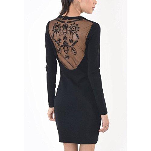 Kleid Schwarz Kaporal Damen Audrey Kleider Zwqp7x