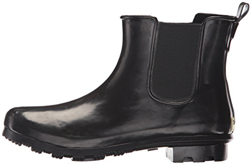 Western Chief Women's Ankle Bootie Rain Boot, Black, 11 M US by Western Chief (Image #5)