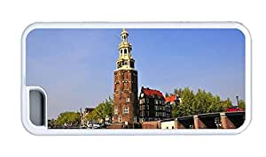 Cute iphone case indestructible cases Netherlands Amsterdam TPU White for Apple iPhone 5C