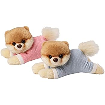 Gund Baby Itty Bitty Boo Plush Toy, Pink/Blue or assorted