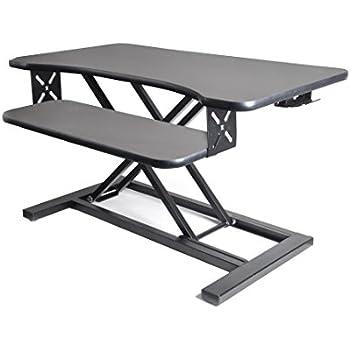 Amazon Com Rocelco Adr Standing Desk Monitor Riser