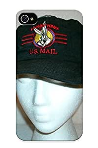 BNMbj0hhXiF Crazylove Awesome Case Cover Compatible With Iphone 4/4s - Warner Bro Bug Bunny Baseball Hat Cap New Adjustable Ebay by mcsharks