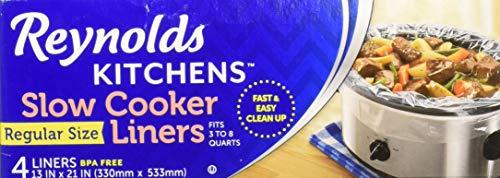 Reynolds Metals 00504 Slow Cooker Liners 13