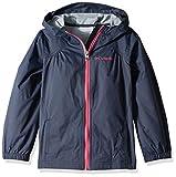 Columbia Girls' Big Switchback Rain Jacket, Nocturnal, Large
