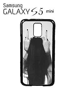 Finger Girl Rude Attitude Mobile Cell Phone Case Samsung Galaxy S5 Mini White