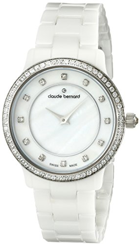 Claude Bernard Women's 20203 BA B Dress Code - Quartz Analog Display Swiss Quartz White Watch